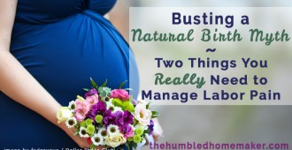 Are you interested in natural childbirth but wondering if you can handle the pain? The ability to manage labor pain may be a lot ore doable than you think.