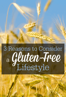 I had no idea gluten could cause so many health issues! Here are 3 good reasons to try a gluten-free lifestyle--you might be surprised how you feel when you give up grains and gluten!