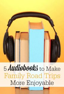 Audiobooks can make family road trips more enjoyable than you ever imagined! Check out my top 5 recommendations for audiobooks to enjoy as a family this summer!