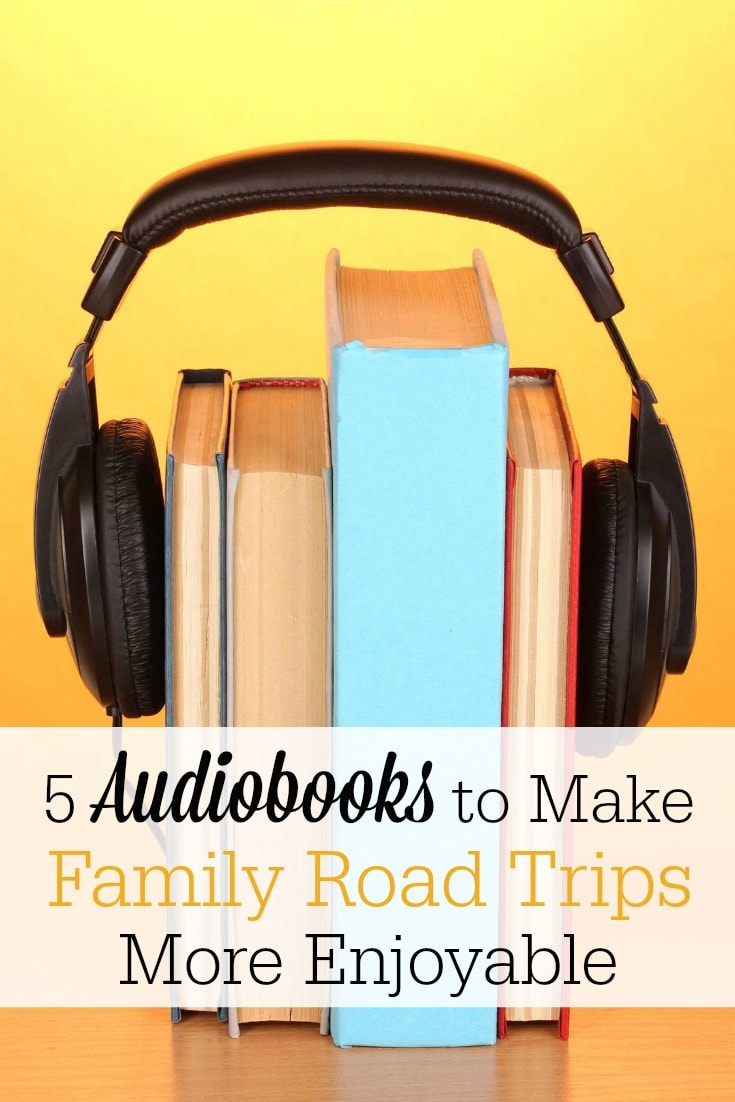 Audiobooks can make family road trips more enjoyable than you ever imagined! Check out my top 5 recommendations for audiobooks to enjoy as a family on your next car ride!