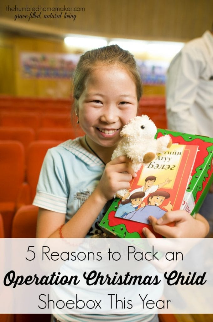 5 Reasons to Pack an Operation Christmas Child Shoebox This Year