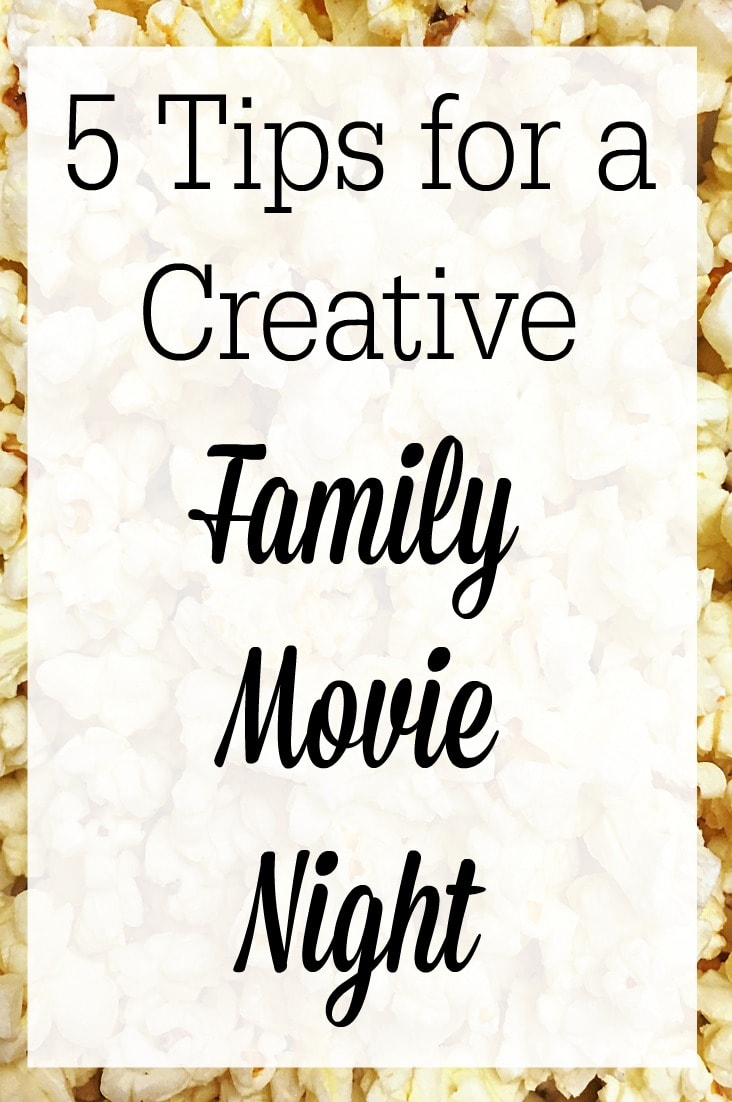 Movie nights can be memorable for years to come. Check out these 5 tips for creative family movie nights!