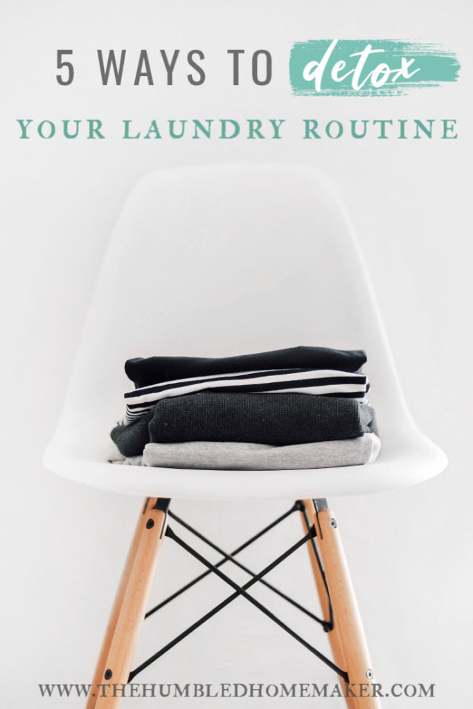 Conventional laundry supplies are full of toxins. Here are 5 easy switches you can make to detox your laundry routine, ditch harmful chemicals, and save some money, too!