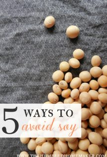 5 Ways to Avoid Soy