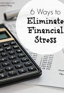 Although there was a time when I felt like we were alone in our financial struggles, I now know that is absolutely not the case. Here are some real ways to eliminate financial stress from your life!