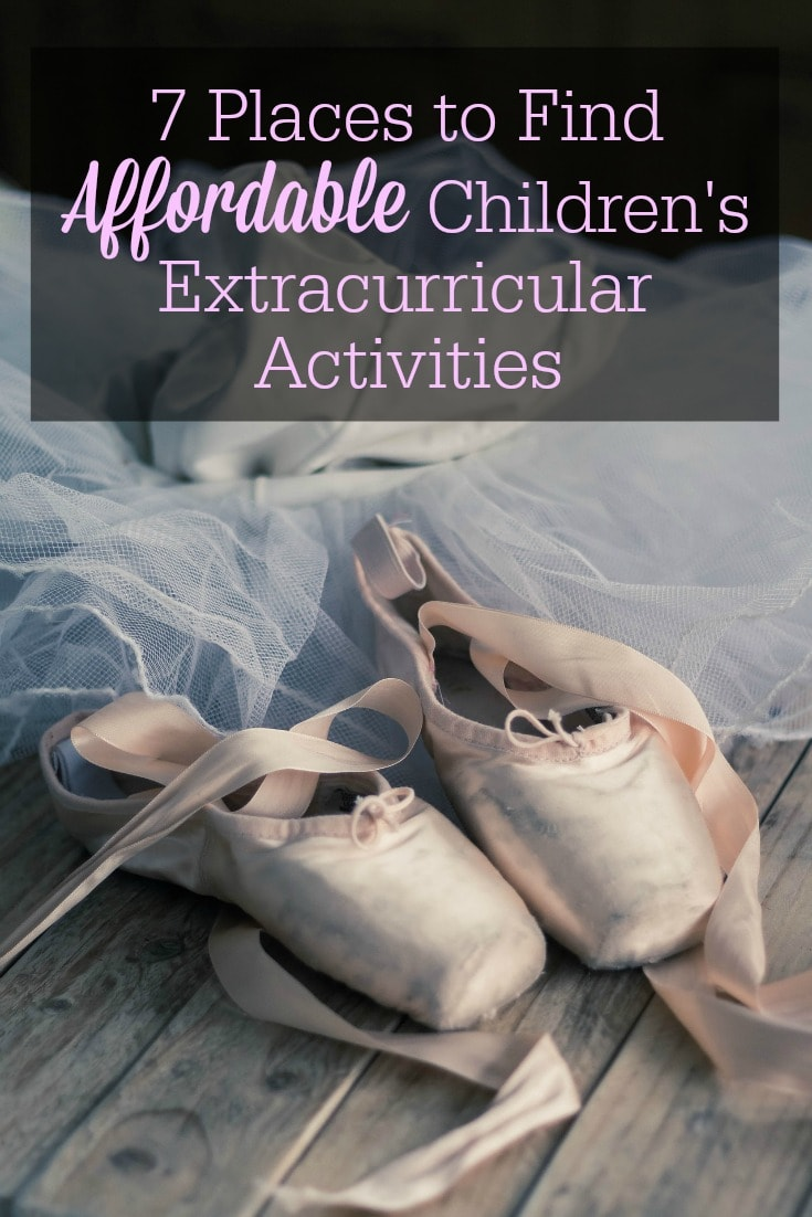 Your kids' extracurricular activities don't have to break the bank. You just have to get creative! Here are 7 places to find affordable extracurricular activities for children.