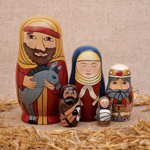 Nativity Nesting Family