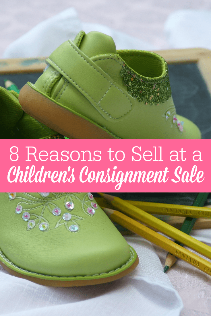 Children's consignment sales can be a great way for moms to make extra money! Here's 8 reasons why you should consider participating in a consignment sale!