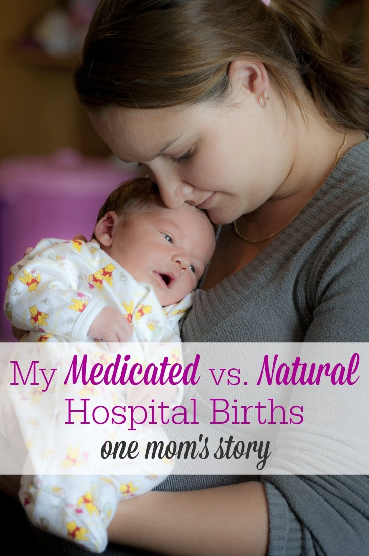Brandy had a medicated birth in the hospital for her first son, but knew she wanted to try for a natural birth with her second. Here's her natural hospital birth story!