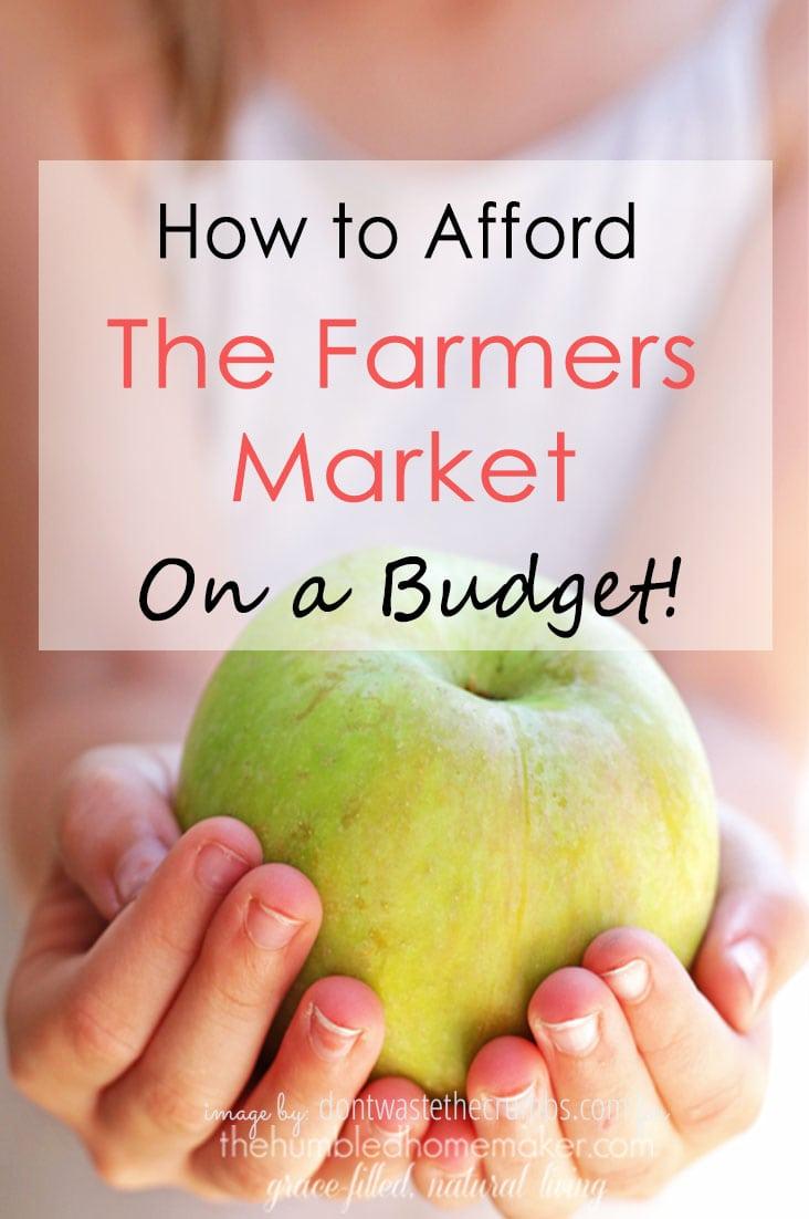 Afford Farmers Market Budget Cover