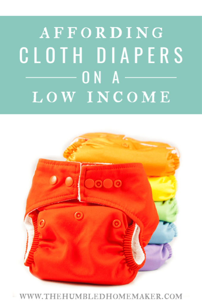 Cloth diapers are totally worth it, and can save you lots of money in the long run. But there's usually a big upfront cost to using cloth diapers! This post is all about affording cloth diapers on a budget, so you CAN use cloth, no matter what your income level!