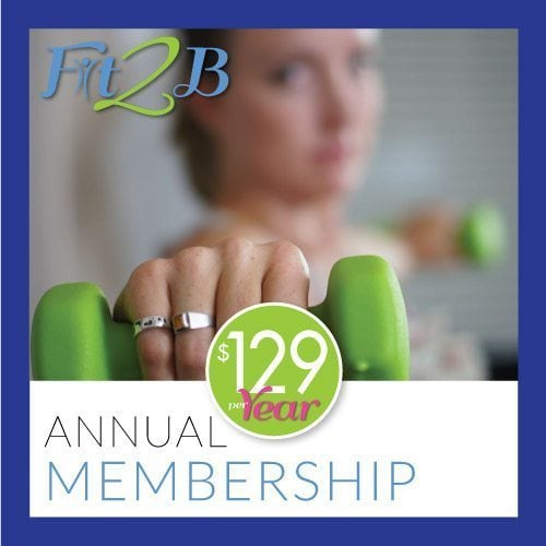 Fit2B annual membership