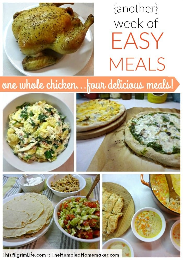 Life gets busy, but no matter how full life is, everyone still needs to eat! Let this plan help you put together a week of quick and easy meals without sacrificing your health or wallet!