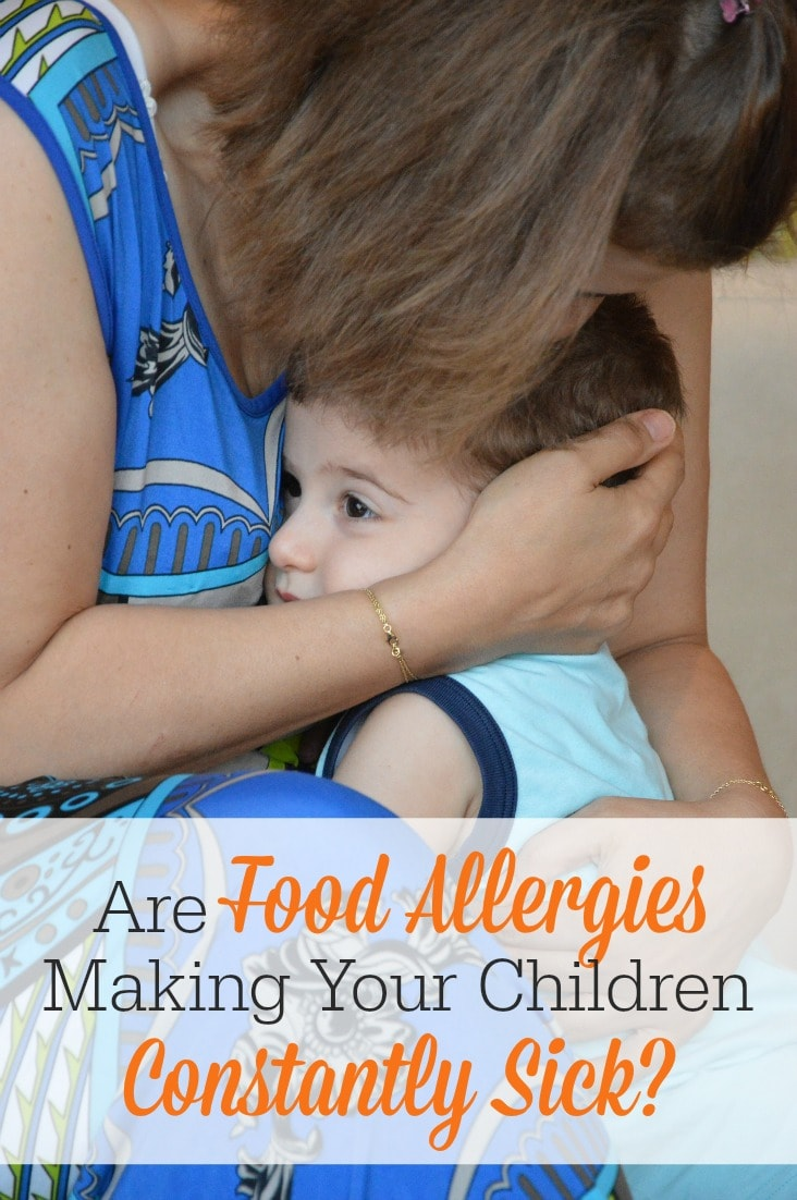If your children are suffering from mysterious health and skin issues, food allergies could be at the bottom of it! Here's how one mom found out why her child was constantly sick!