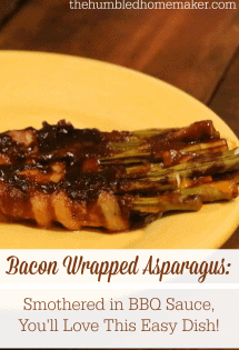 This bacon wrapped asparagus recipe is easy, but it tastes gourmet. With just three simple ingredients, you'll want to add this as a regular appetizer for parties or even as a light main dish for busy weeknights!