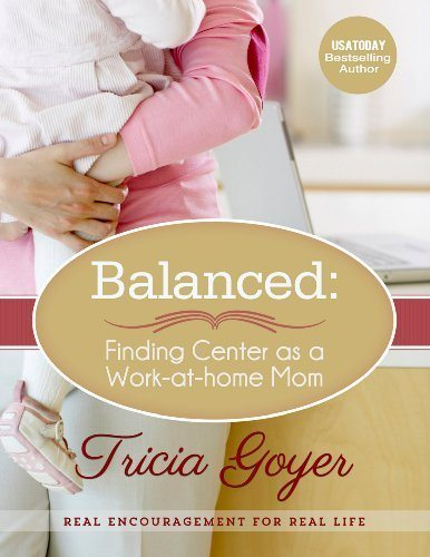 Find balance in your home business as a work-at-home mom.