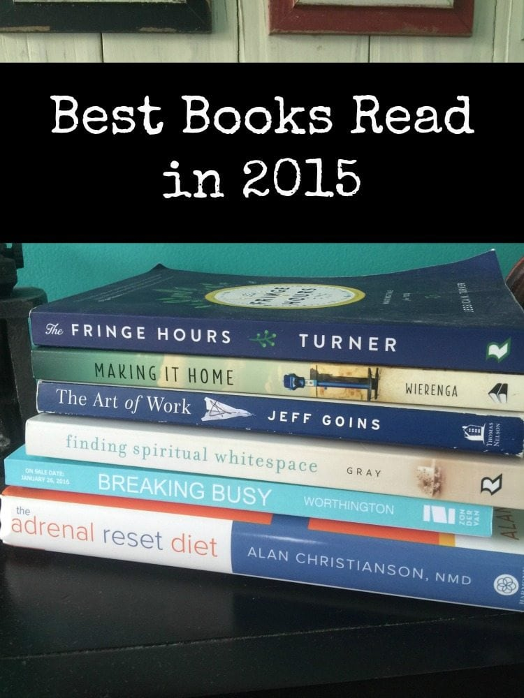 Best Books Read in 2015