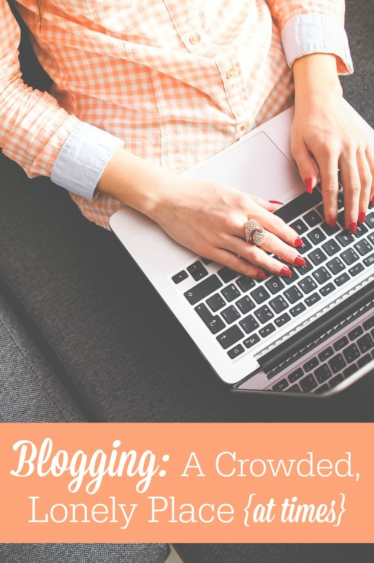 Blogging comes with its challenges, but I love it! Here's a glimpse behind the scenes at what it's like to be a work-at-home mom blogger.