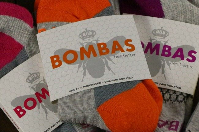 Bombas colored packaging