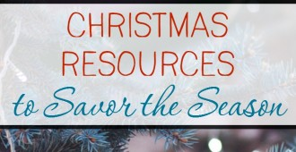 There are so many resources for celebrating Christmas and Advent with little ones! Here are some of my favorites.