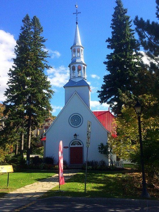 a good walk to a church