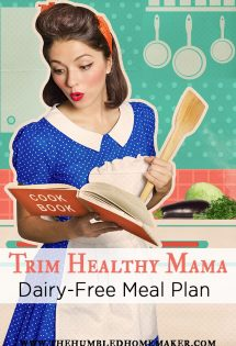 Dairy Free Trim Healthy Mama meal plan