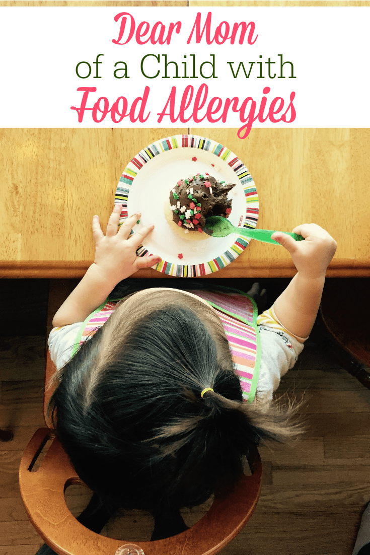 Does your child have food allergies? Are you ever fearful or frustrated because of your child's food sensitivities? This letter is for you!