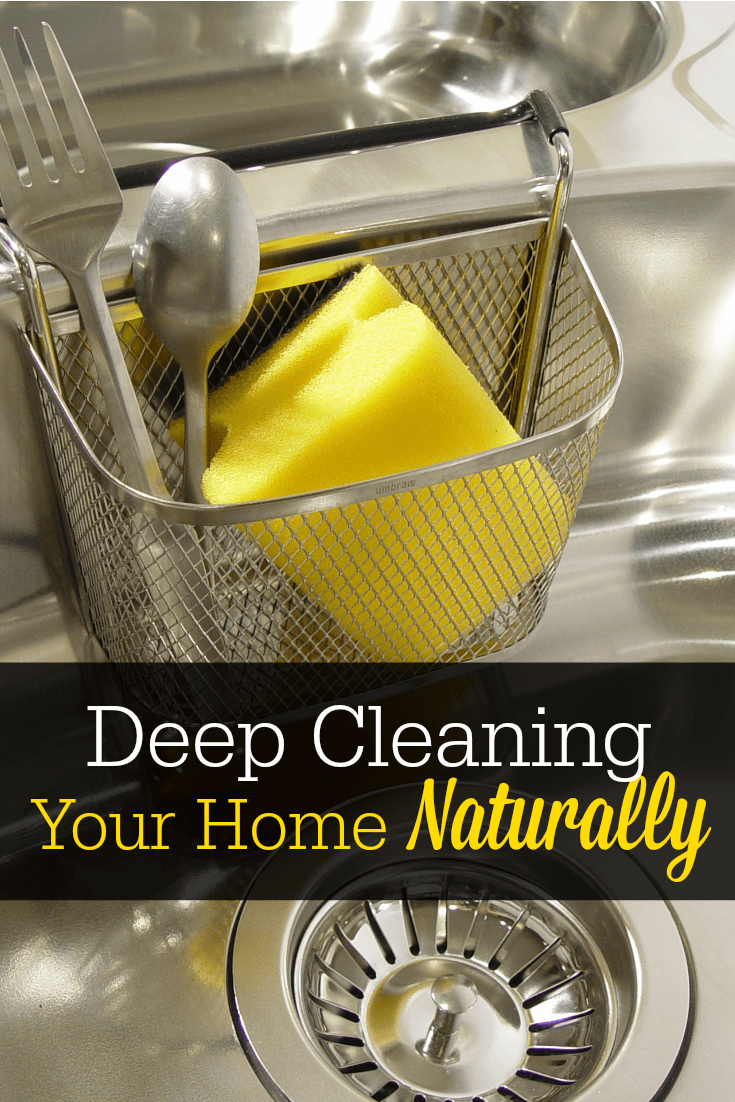 Deep clean your house naturally! Here's how to get started with your own natural deep clean.