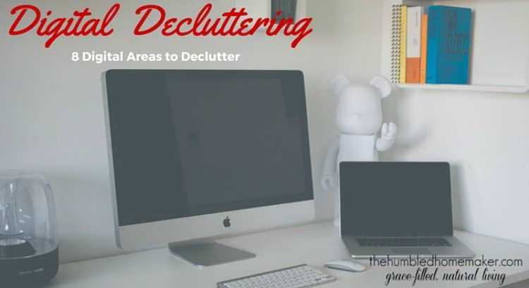 Decluttering can be like a breath of fresh air saving you time, money and sanity. Digital decluttering your devices is much the same. We've been focusing on understanding and removing clutter in our homes and here's one more area that needs our attention.