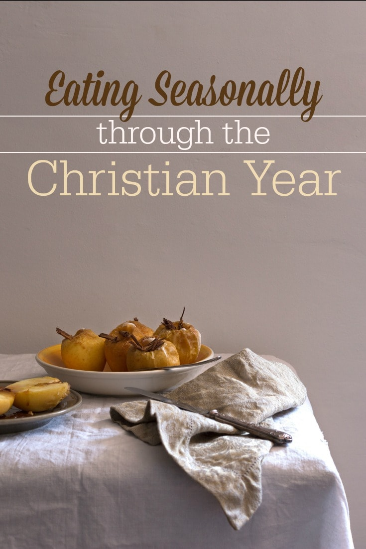the Christian calendar offers us rhythms of feasting and fasting that always point us to Jesus.