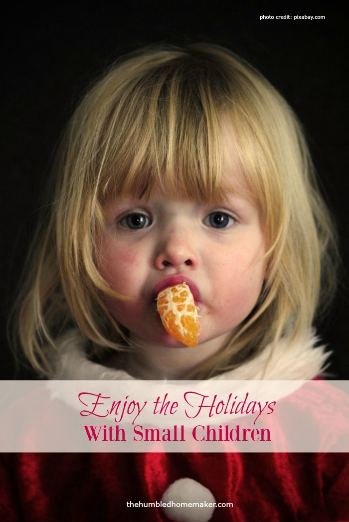 Wondering how you can enjoy the holidays with young children? It may seem challenging, but there are ways to do it without feeling stressed out.