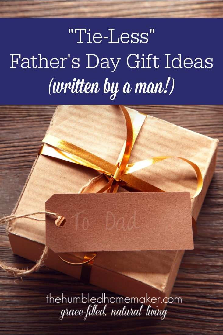 Show the dads in your life some love with this giant list of Father's Day present ideas. This gift list was compiled by a man, so it's sure to be a hit!