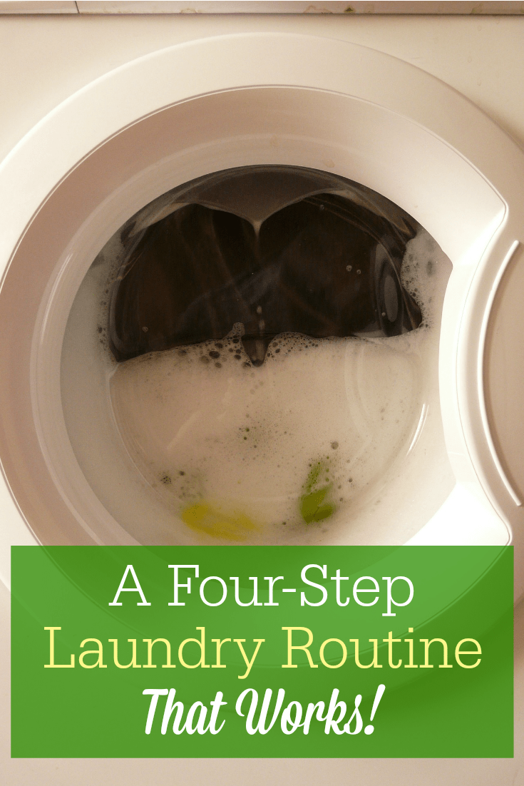 Figuring out how to take the overwhelm out of my laundry routine has been a huge game changer. This 4-step laundry routine WORKS!