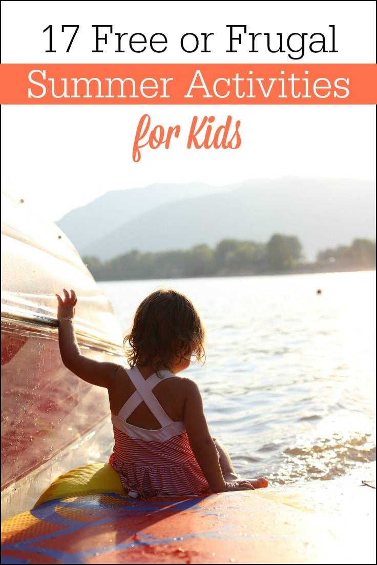 These frugal (or free!) summer activities for kids will keep your children entertained all summer long!