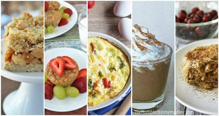 Fall superfoods are easy to use in your breakfast meal plan! Here are 5 healthy breakfast recipes you can make with seasonal superfoods.