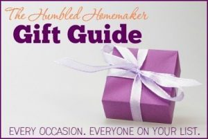 Gift Guide Sidebar button