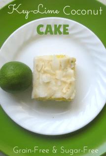 Gluten Free Key-Lime Coconut Cake - TheHumbledHomemaker.com