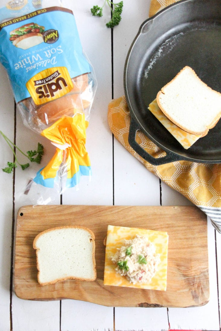 Gluten-Free Salmon Melts