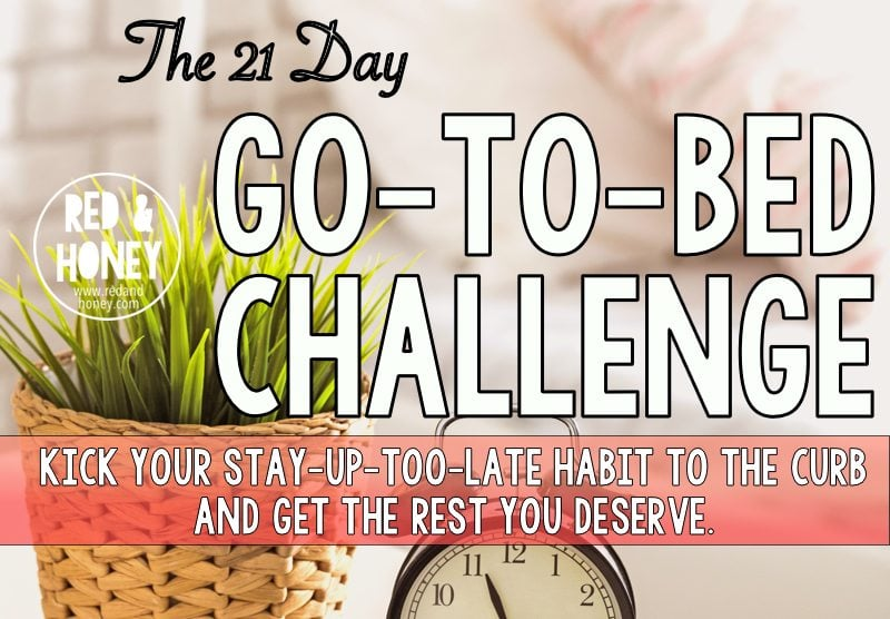 The 21 Day Go-To-Bed Challenge