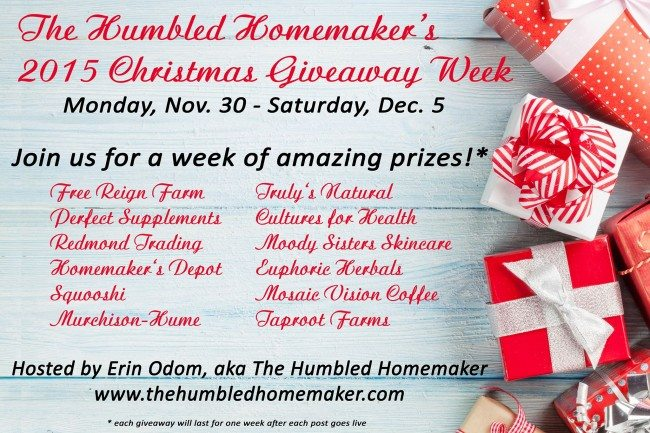 HH Christmas Giveaway Week 2015