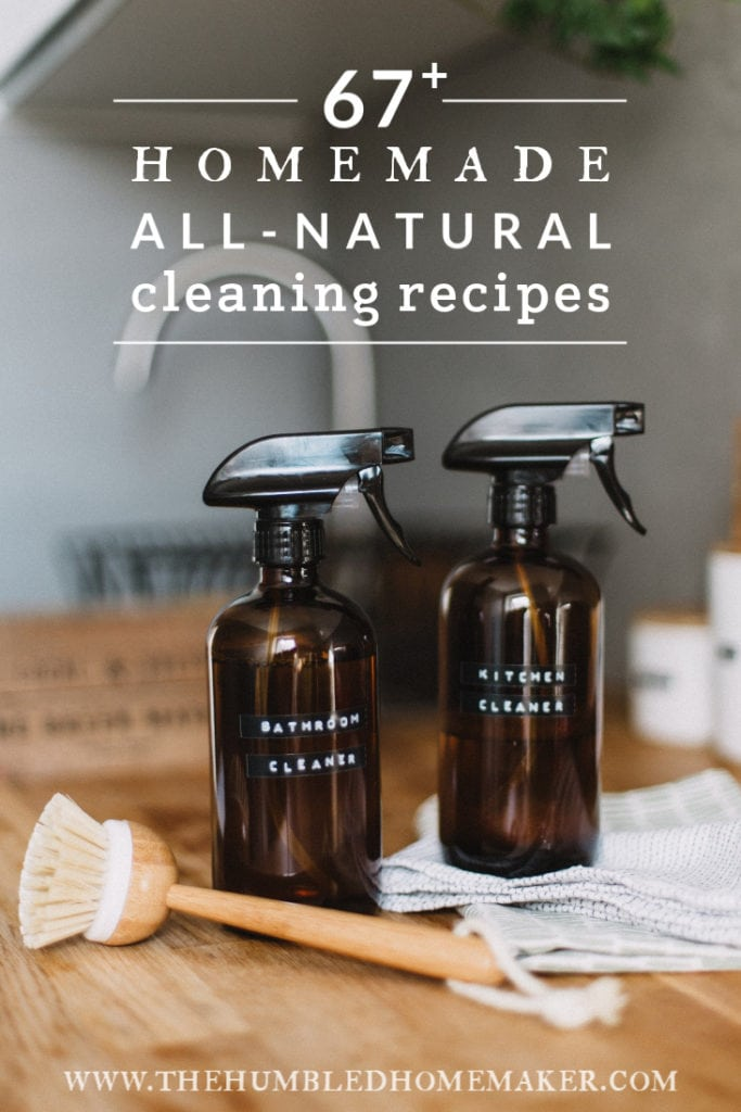 Homemade, All-Natural Cleaning Recipes