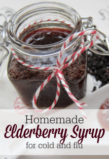 Want to build up your immune system? Here's a simple and effective elderberry syrup recipe for cold and flu!