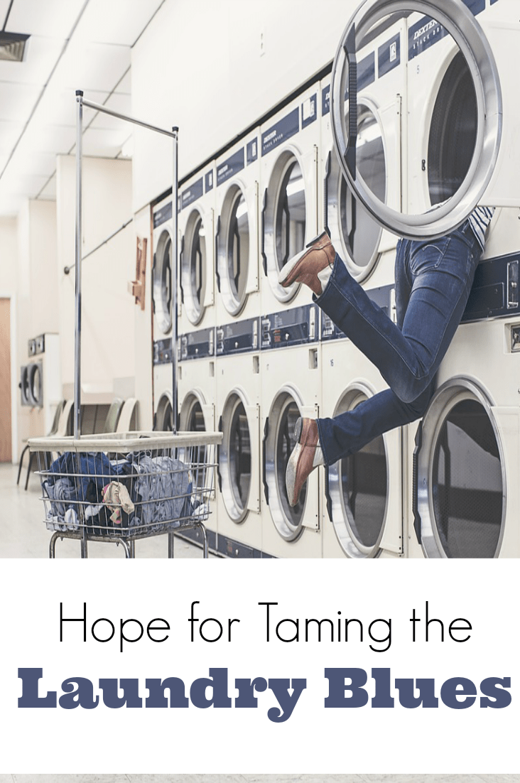 Are you ever discouraged by laundry? You need to know you're not the only one, Mama! There is hope for taming the laundry blues!