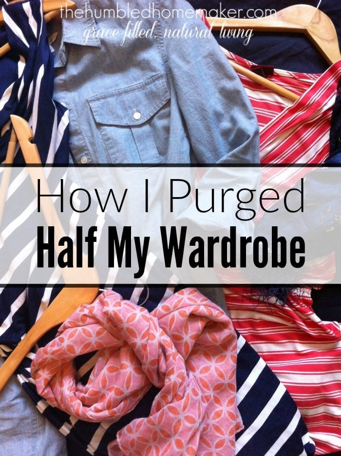 Do you want to declutter your closet? Here are three key things that helped Elsie purge half her wardrobe!