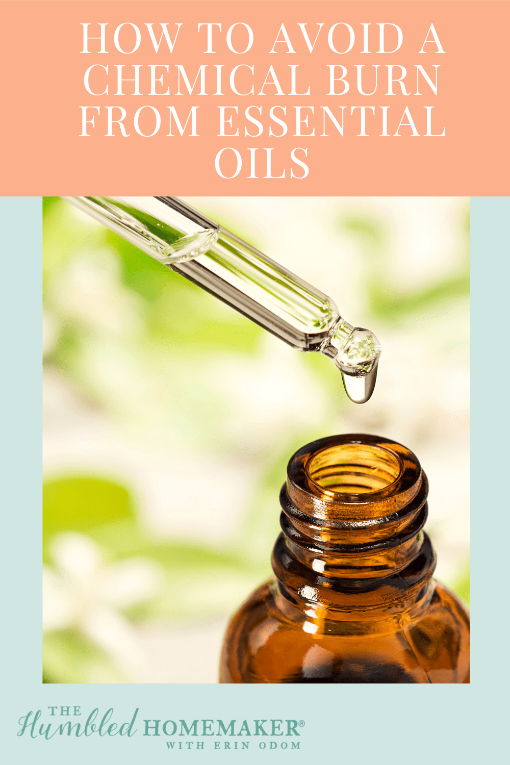 Use essential oils safely!I would have never guessed that this popularessential oil would give me a chemical burn! But it did, and I might now be scarred forever. If only I had better educated myself before using it!