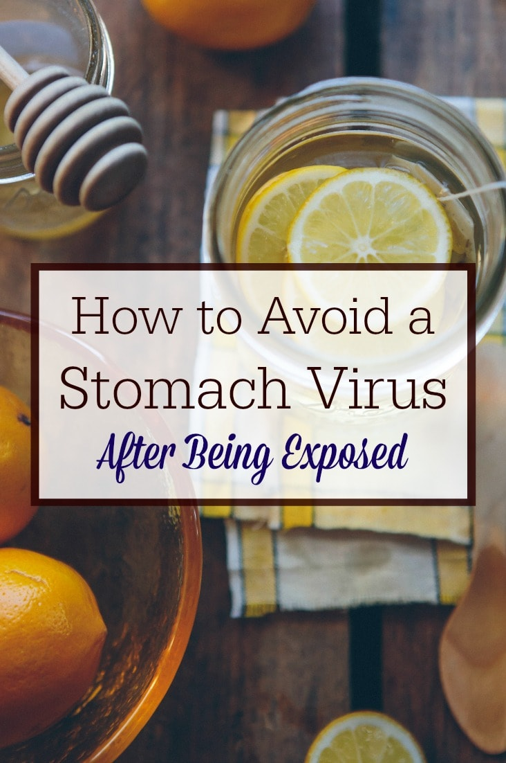 Think you can't avoid a stomach virus after being exposed? Think again! I did it--and I think you can, too! Click through to find out how.