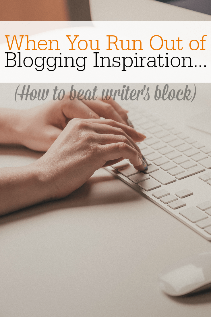 If you are a work-at-home mom, you must read these ideas for how NOT to run out of ideas for your blog or business.