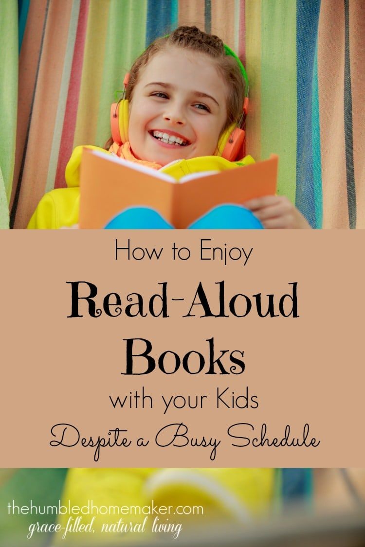Enjoy Read Aloud Books on 2015 1st Grade Homeschool Schedule