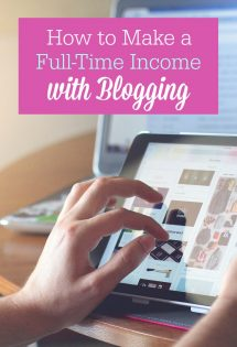 Want to make a full-time income blogging? It's completely possible, and I'll show you how to do it in this post!