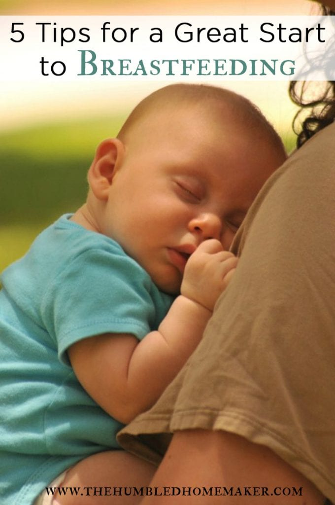 5 ways to help you prepare for breastfeeding